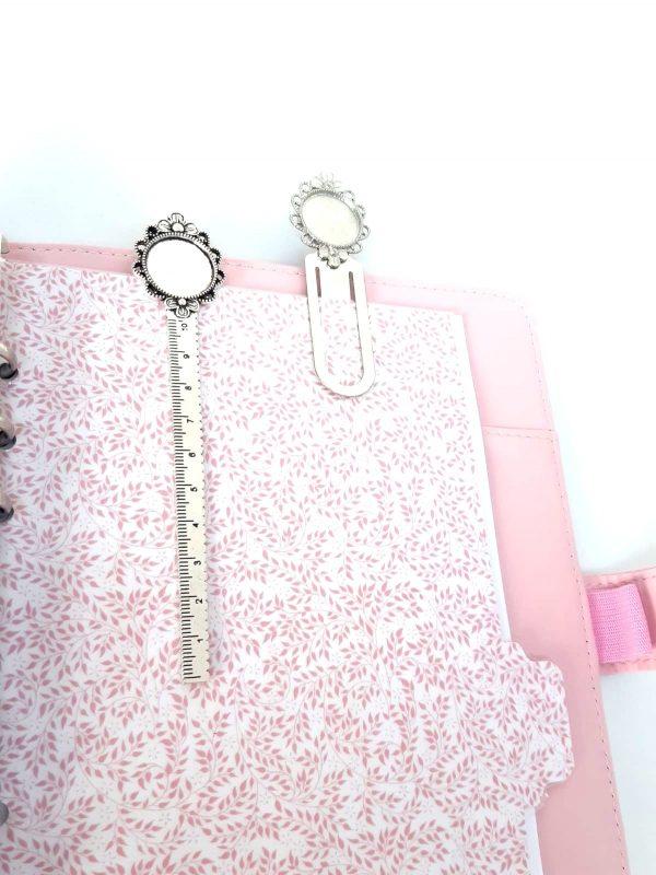 Marque page bijoux personnalisé planner