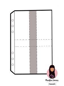 pochette cartes a5 personnal zip planner