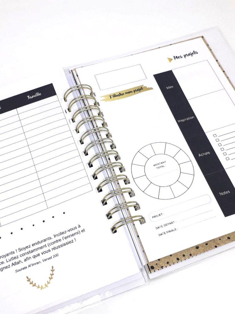 zawji planner planner personnalisé spiral