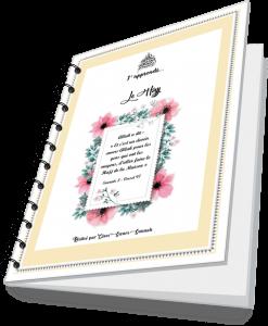 Notebook j'apprends le hajj