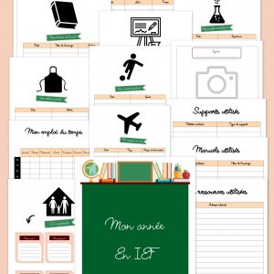 Planner ief ecole a la maison instruction en famille