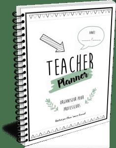 eacher planner professeurs