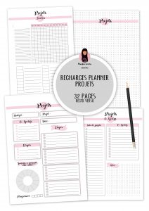 RECHARGES PLANNER PROJET PROJETC