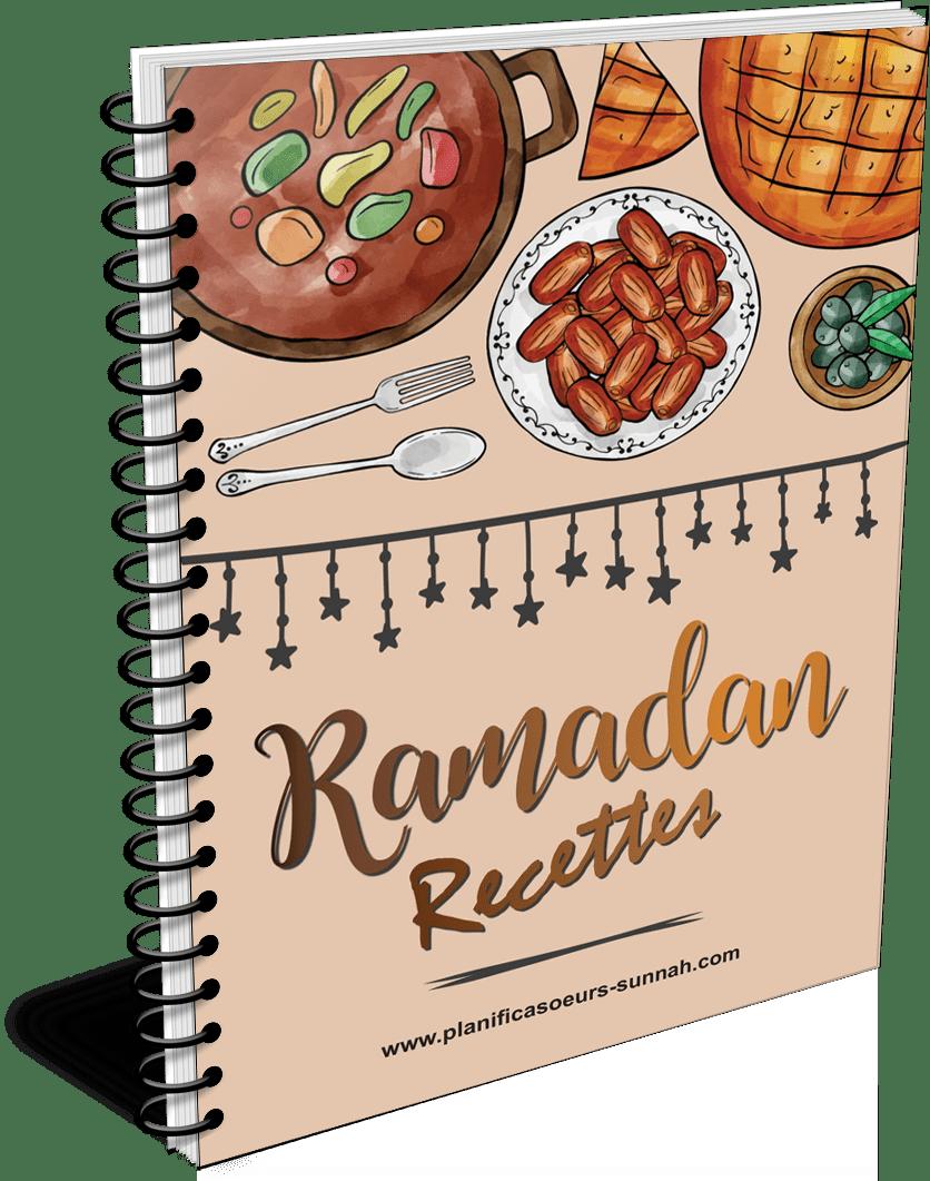 book cahier planner recette ramadan planificasoeurs sunnah