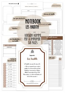 notebook homme les hadith planificasoeurs sunnah