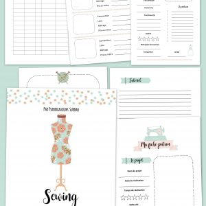 planner couture sewing agenda planificasoeurs sunnah