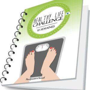 Healthy challenge planner cahier minceur agenda planificasoeurs sunnah gratuit regime