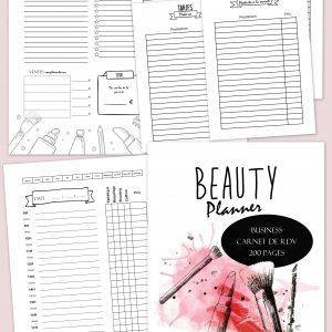 planificasoeurs sunnah carnet de rdv beauty planner business planificasoeur sunnah planner professionnel coiffure esthétique maquillage