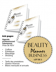 beauty planner business planificasoeur sunnah planner professionnel coiffure esthétique maquillage