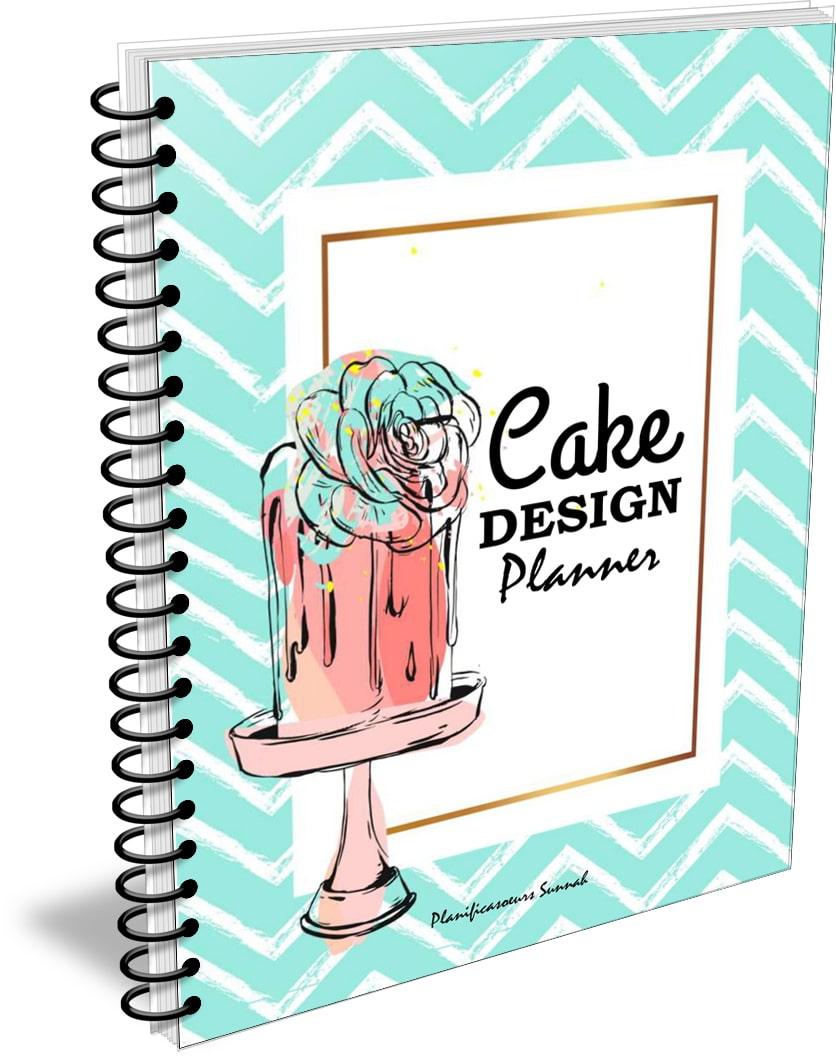 commande gâteaux cake design planner planificasoeurs sunnah cahier carnet