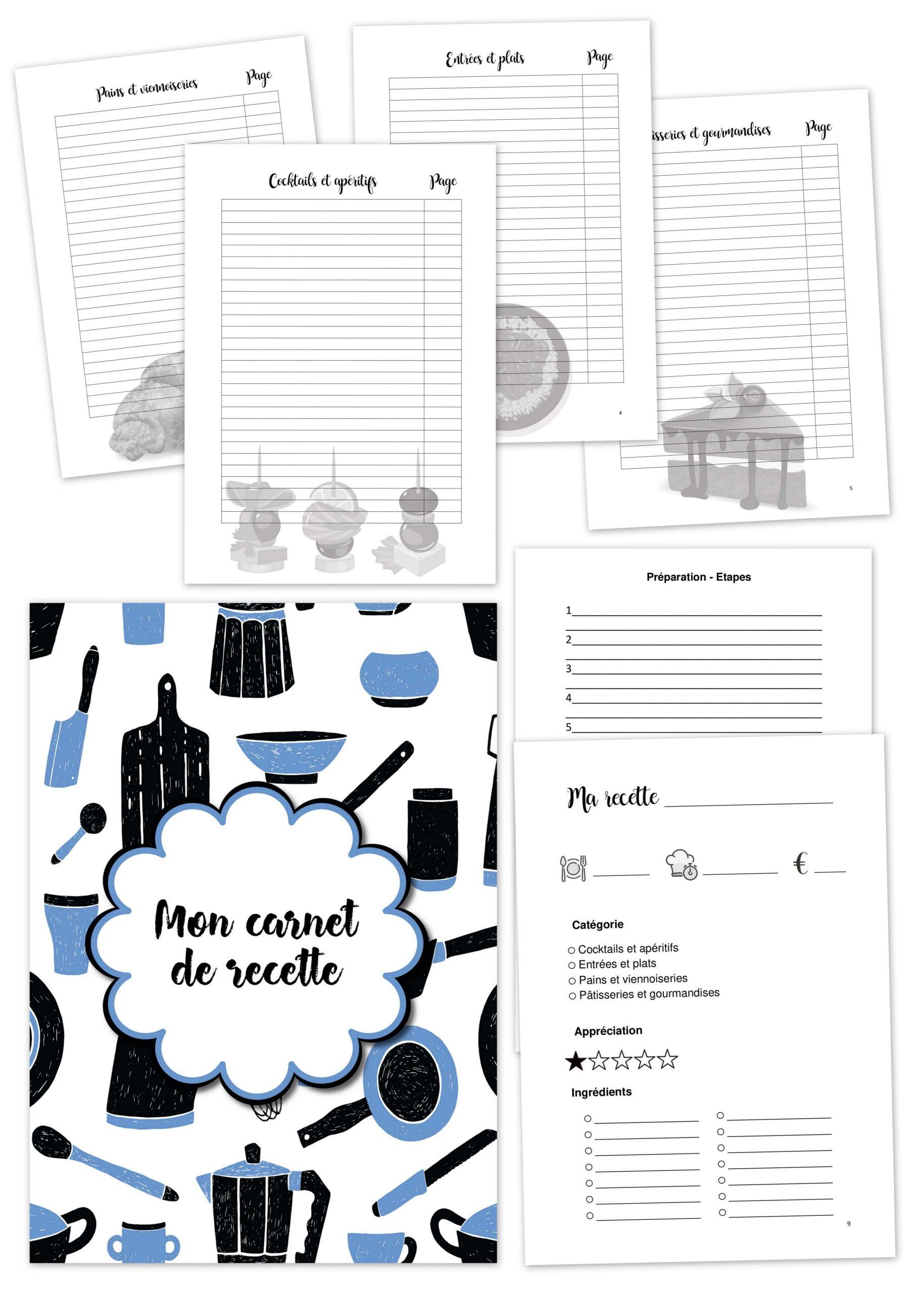 arnet recettes bleu noir à imprimer planificasoeurs sunnah
