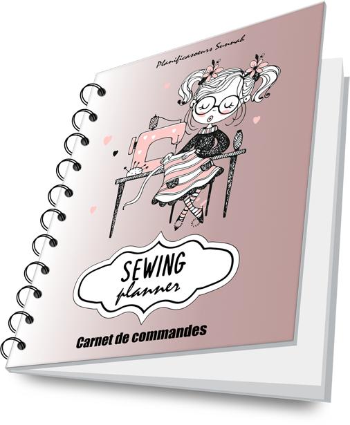 Couture cahier carnet de commandes sewing planner planificasoeur sunnah 2