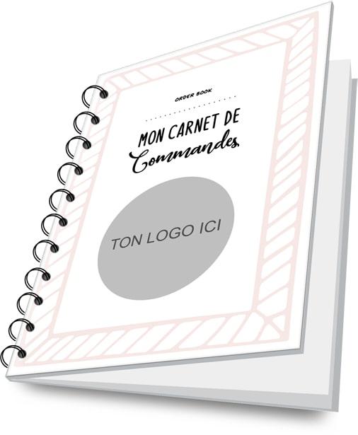 carnet cahier de fiches commandes professionnels auto entrepreneur business planificasoeurs sunnah