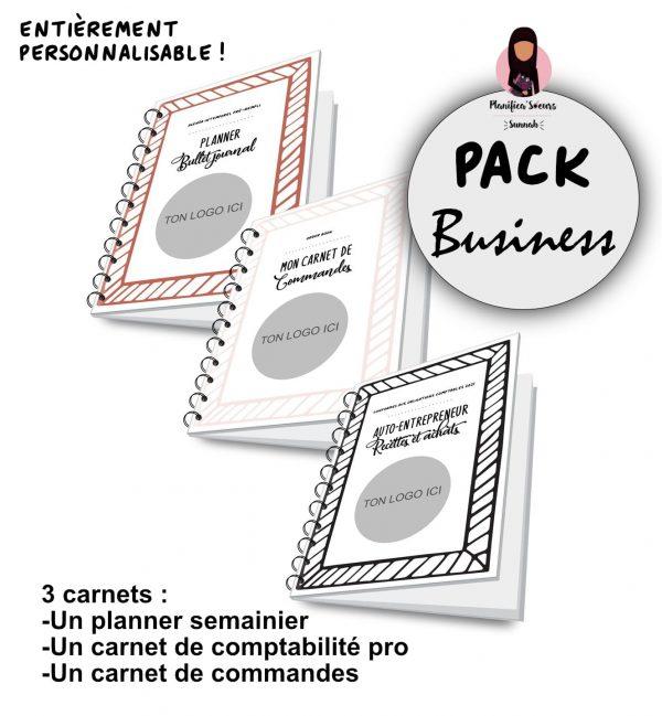 pach business pour entrepreneur cahier livres comptes agenda commandes planificasoeurs sunnah
