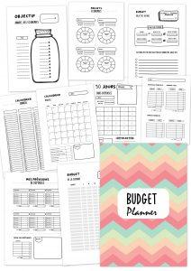 Budget planner carnet cahier de compte famille economie no buy planificasoeurs sunnah