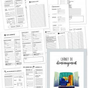 Carnet cahier agenda planner déménagement planificasoeurs sunnah