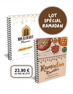 lot special ramadan planner agenda recettes carnet cahier planificasoeurs sunnah