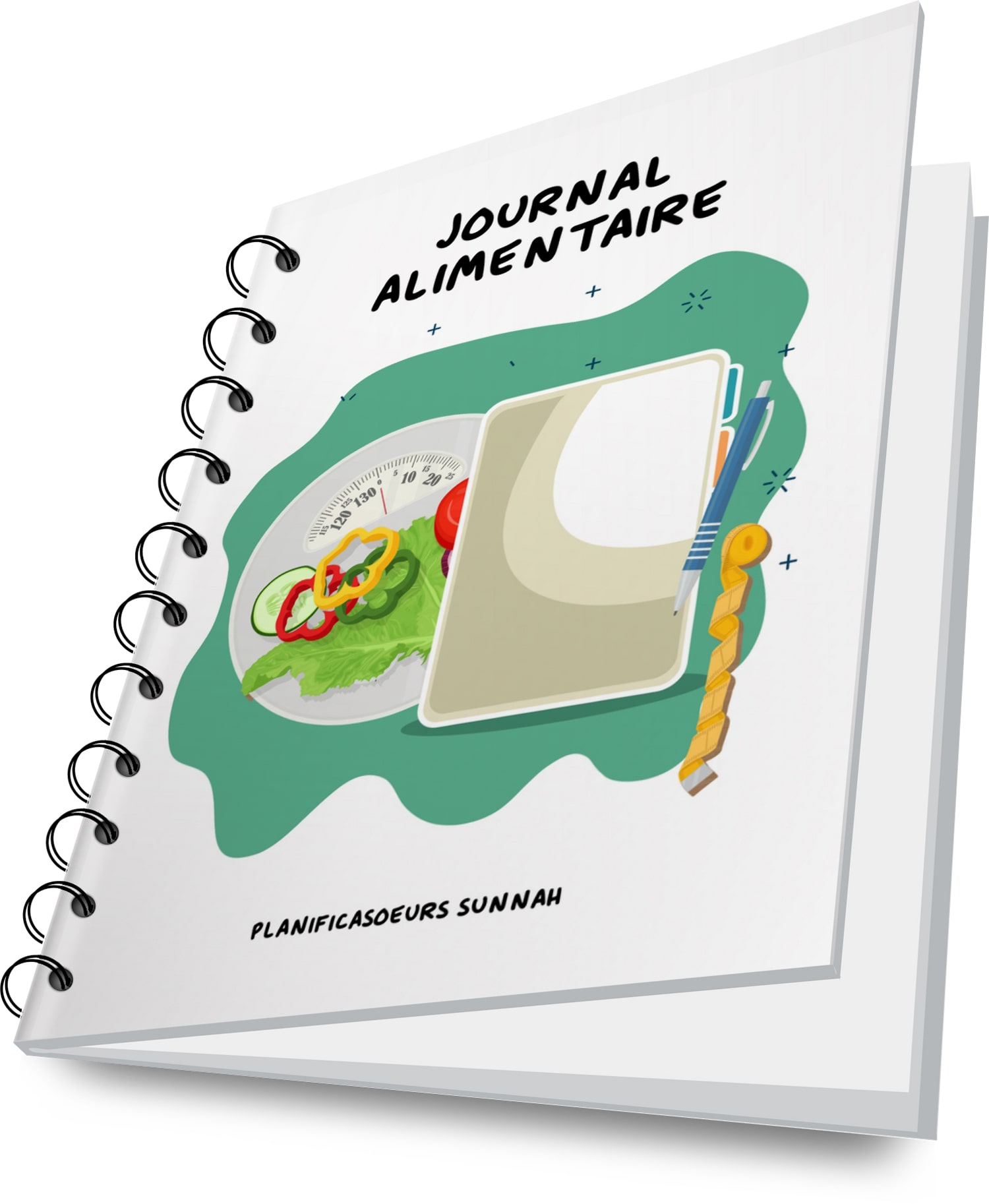 carnet cahier planner journal alimentaire régime minceur planificasoeurs sunnah