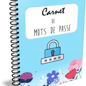 carnet cahier mots de passe codes secrets planificasoeurs sunnah belu