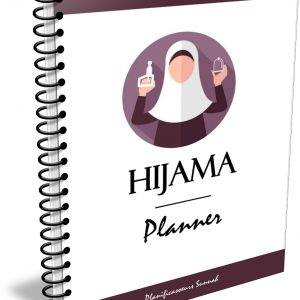 hijama carnet cahier cupp cupping planner planificasoeurs sunnah femme